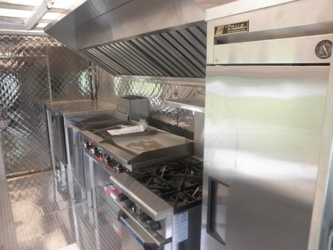 concession trailer interior